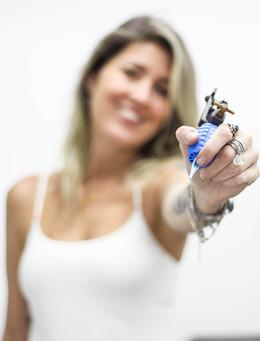 Comercial para divulgação da tatuadora