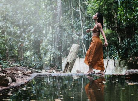 Ritual fotográfico com Maria Clara
