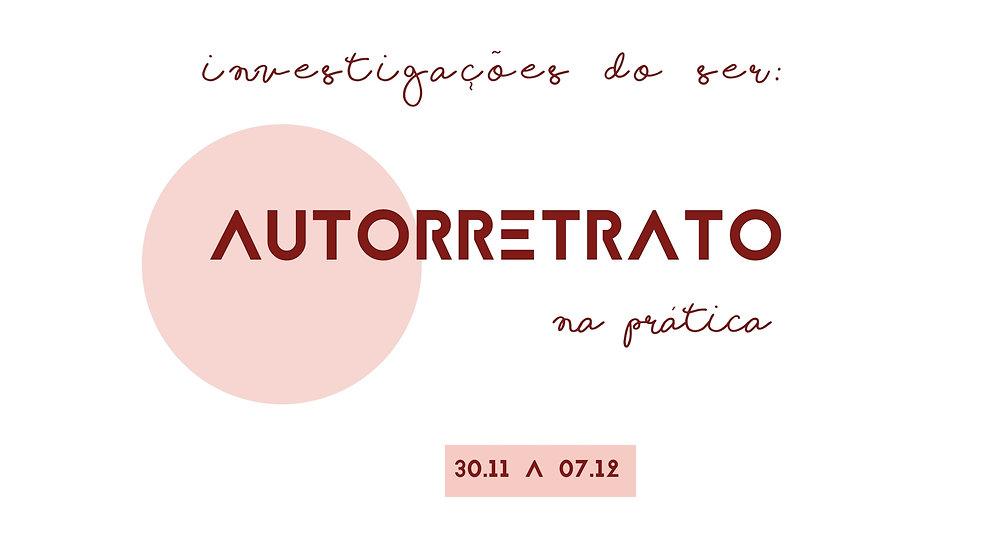 Apresentação 15 dias curso AUTORRETRAT