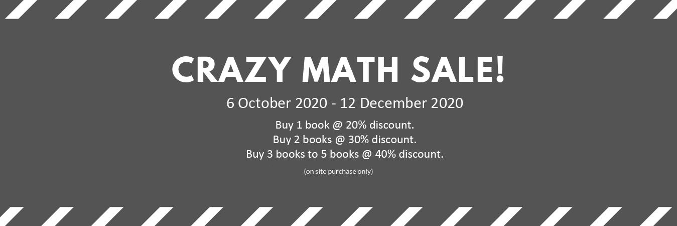 CRAZY MATH SALE! 2020