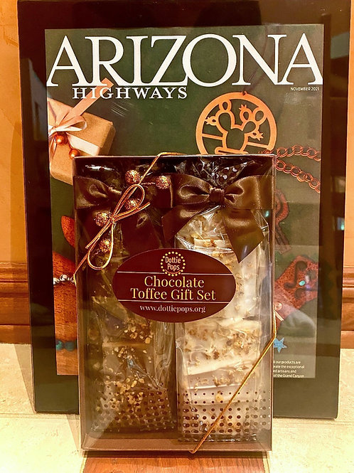 Chocolate Toffee Gift Set
