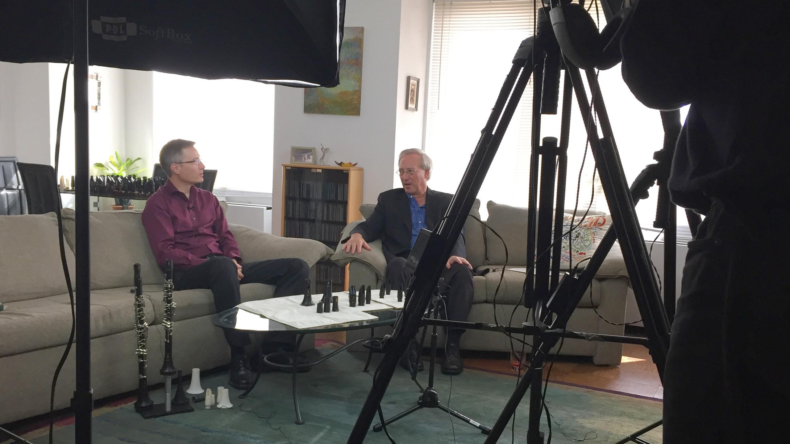 Brad interviewed by Ed Joffe