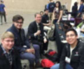 David Shea and friends at TMEA 2016 in San Antonio, TX