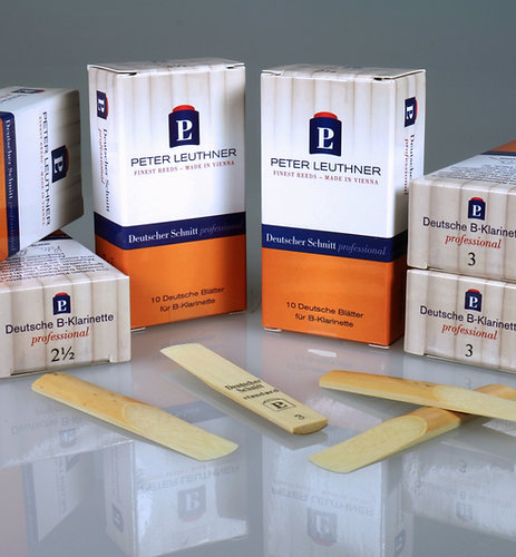 Peter Leuthner German Cut Professional Bb Clarinet Reeds
