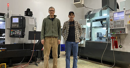 Brad Behn and Ron Shipley at EPIC CNC