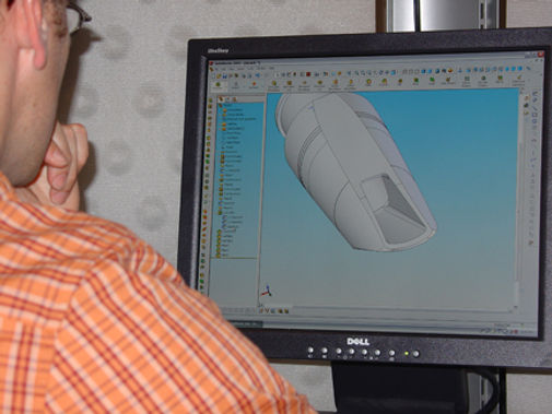Making of Behn clarinet mouthpieces, barrels, and bells:  working with Solidworks to create a solid model prior to CNC machining