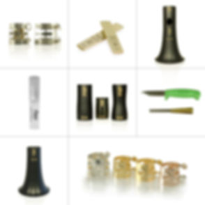Behn offers clarinet mouthpieces,  clarinet reeds, clarinet ligatures, clarinet barrels, clarinet bells, clarinet reed tools.