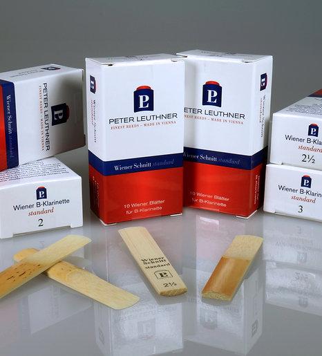 Peter Leuthner Viennese Cut Standard Bb Clarinet Reeds