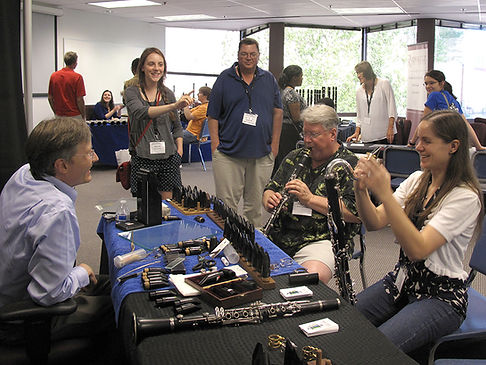 Brad Behn at Clarinet Colloquium 2015 in Dallas, Texas