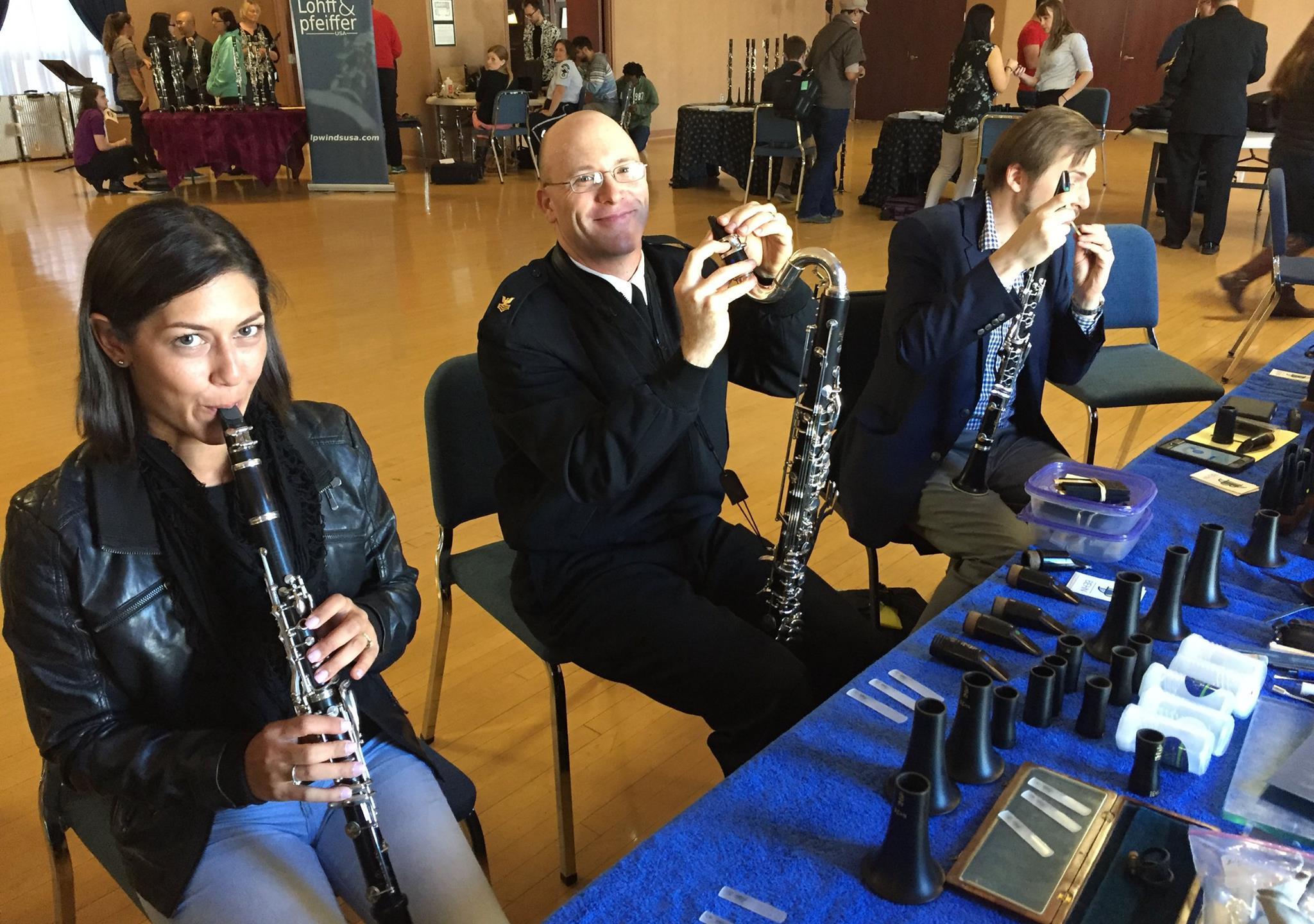 Navy Clarinet Day in Washington, DC