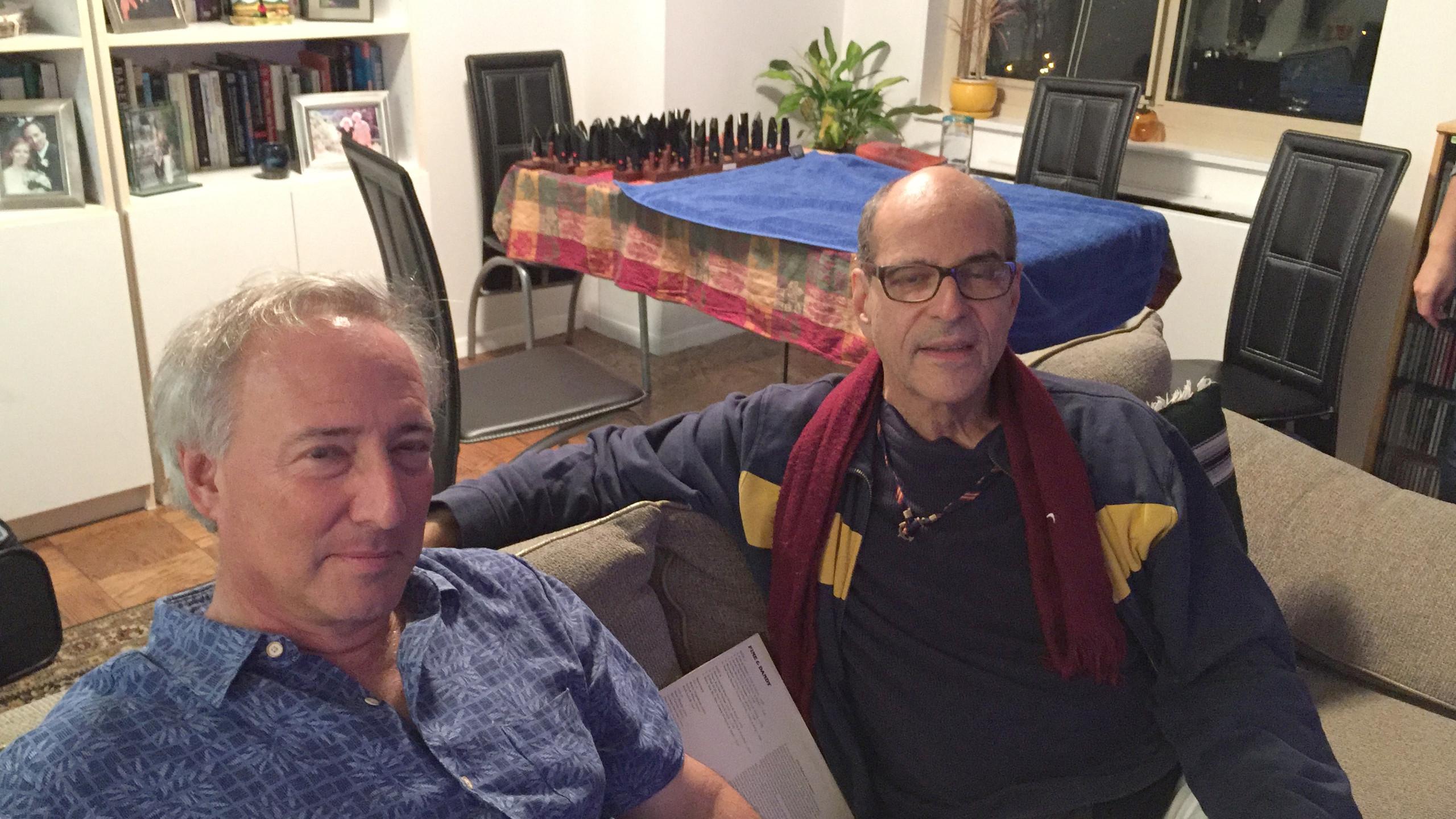 Ed Joffe and Lawrence Feldman
