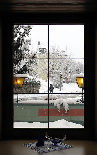 Window Saver - DIY Magnetic Interior Storm Window - Snowy Day