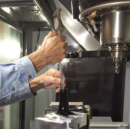 EPIC CNC Behn clarinet bell precision measuring