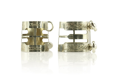 BAY Bb Clarinet Ligature (unplated nickel-silver)