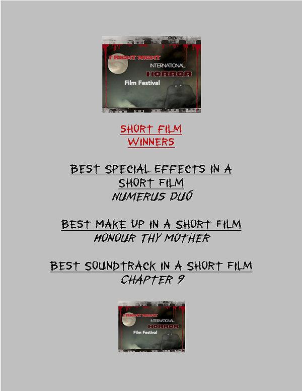 Fright Night SHORT Film WINNERS 2020 - 6
