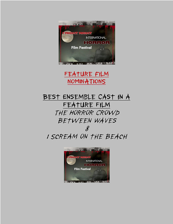Fright Night FEATURE Film NOMINATIONS 20