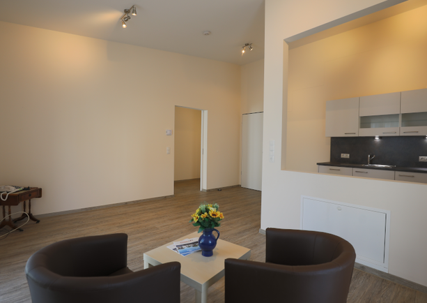 Wohnbereich Apartment klein