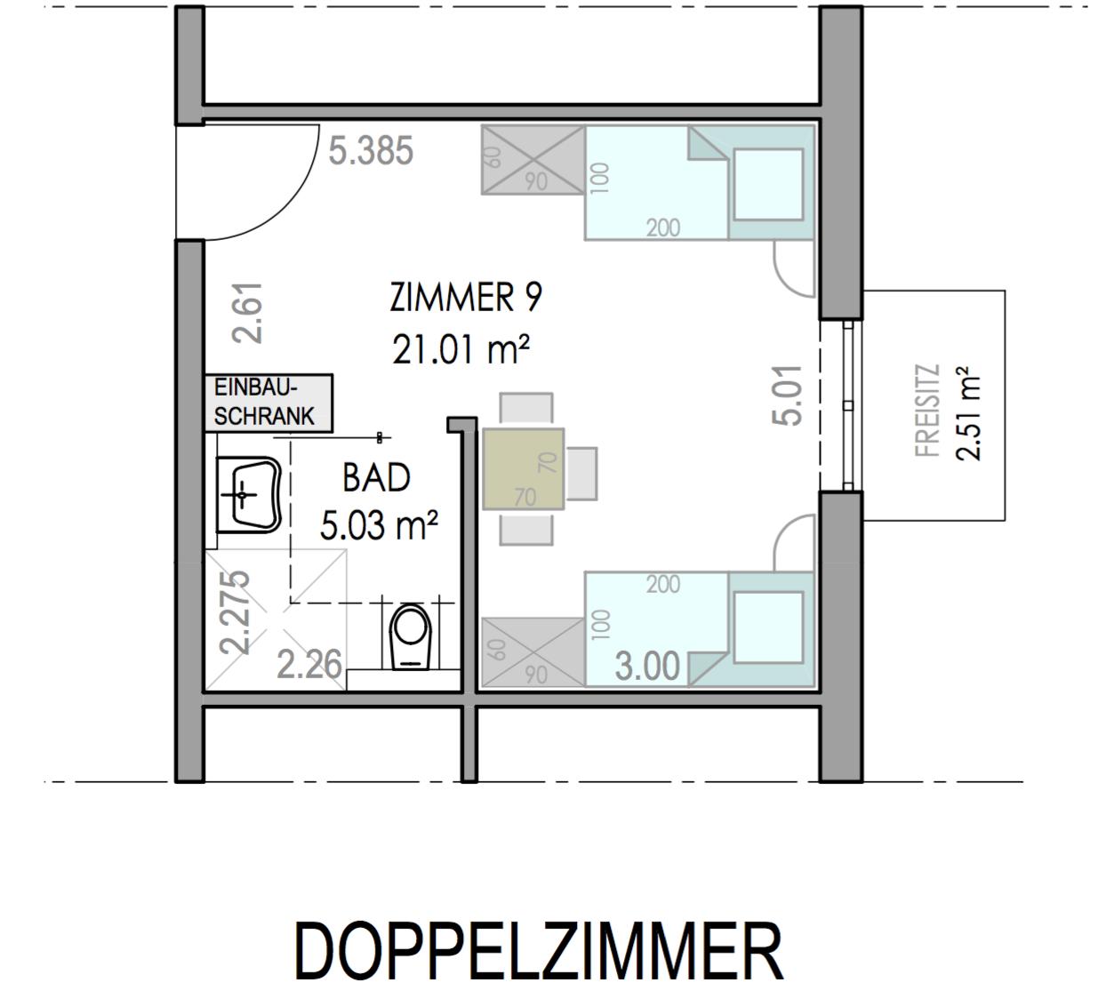 Doppel-Zimmer