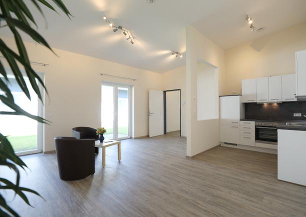 Wohn- und Essbereich Apartment groß
