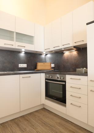 Küche Apartment klein