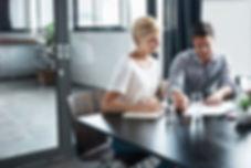 busy executive financial advisor
