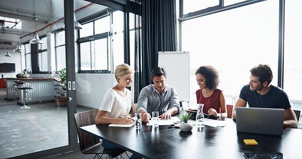En una reunión