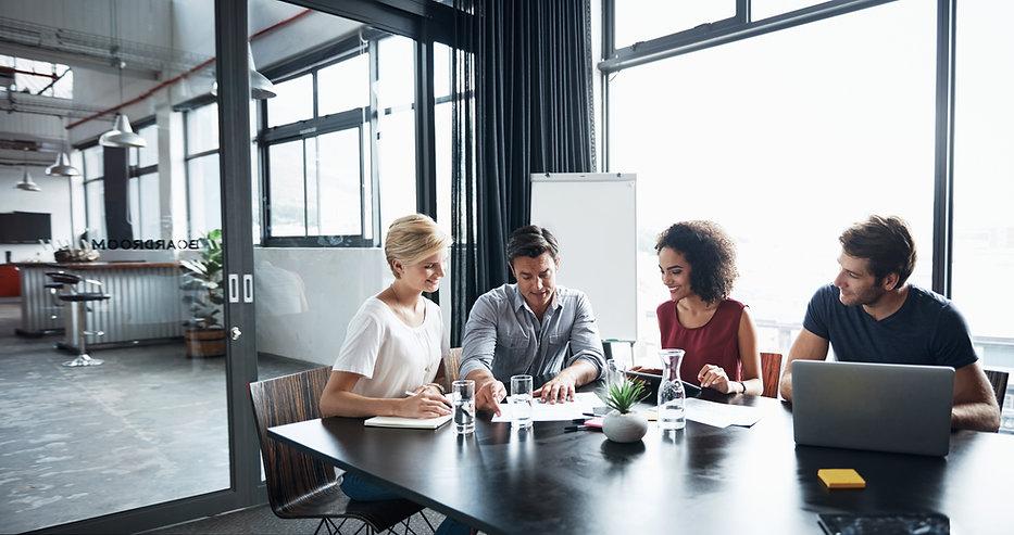In einem Meeting