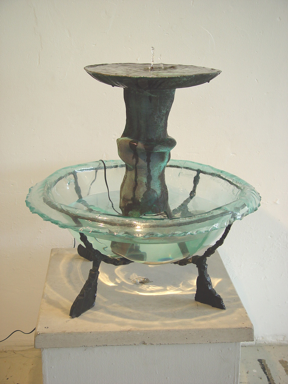 Kaviar forge fountain
