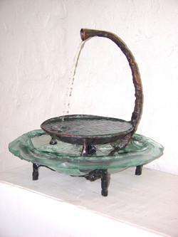 Kaviar forge fountain