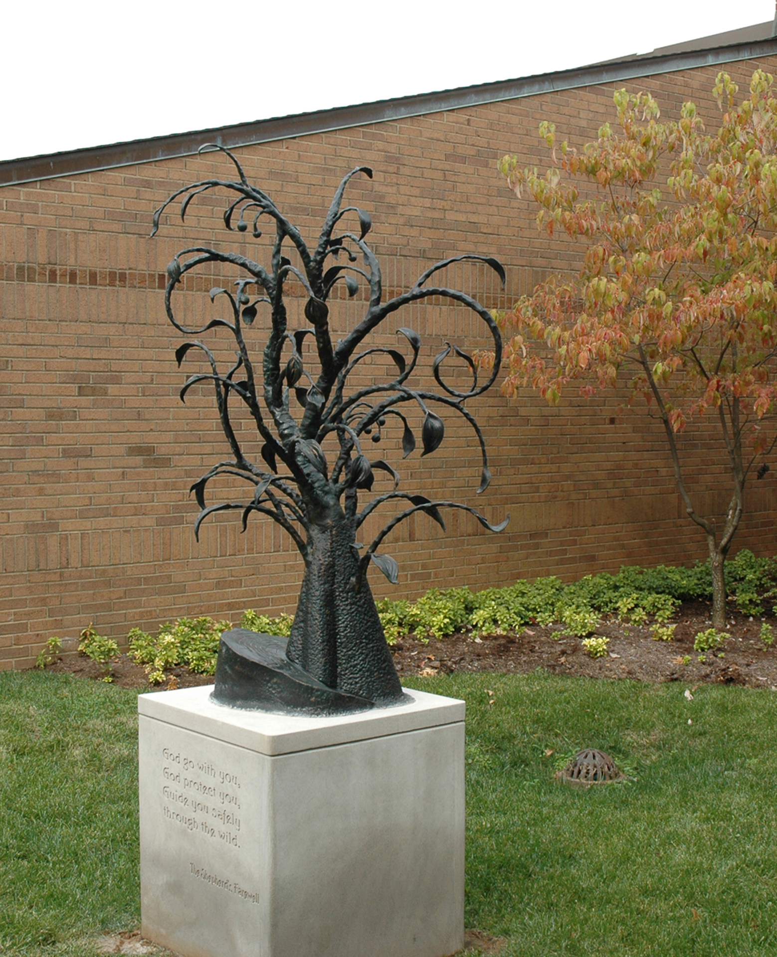 kaviar forge tree sculpture