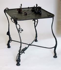 Chess Set Table