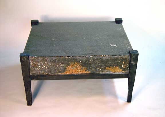 kaviar forge table concrete