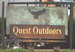 sign quest outdoors