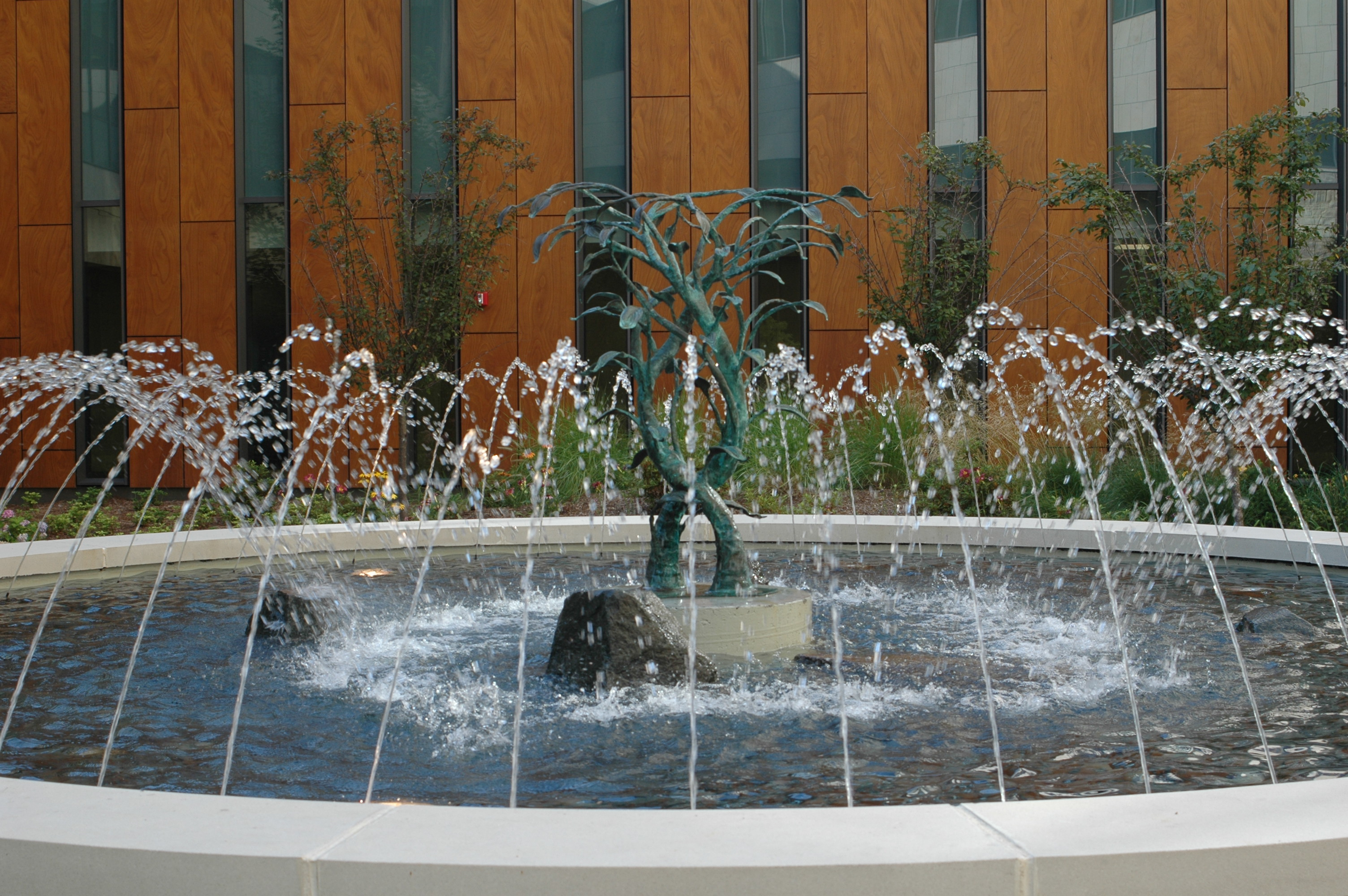 Kaviar forge fountain sculpture