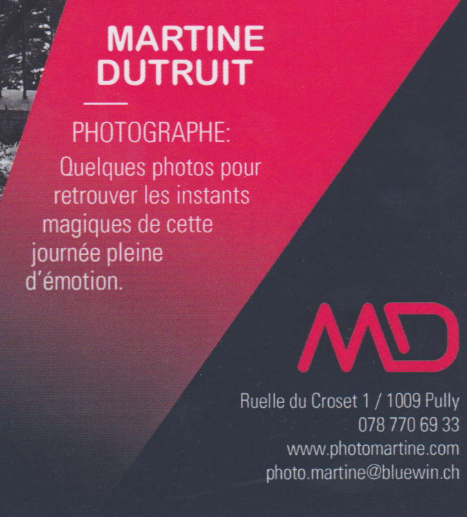 Martine photo logo
