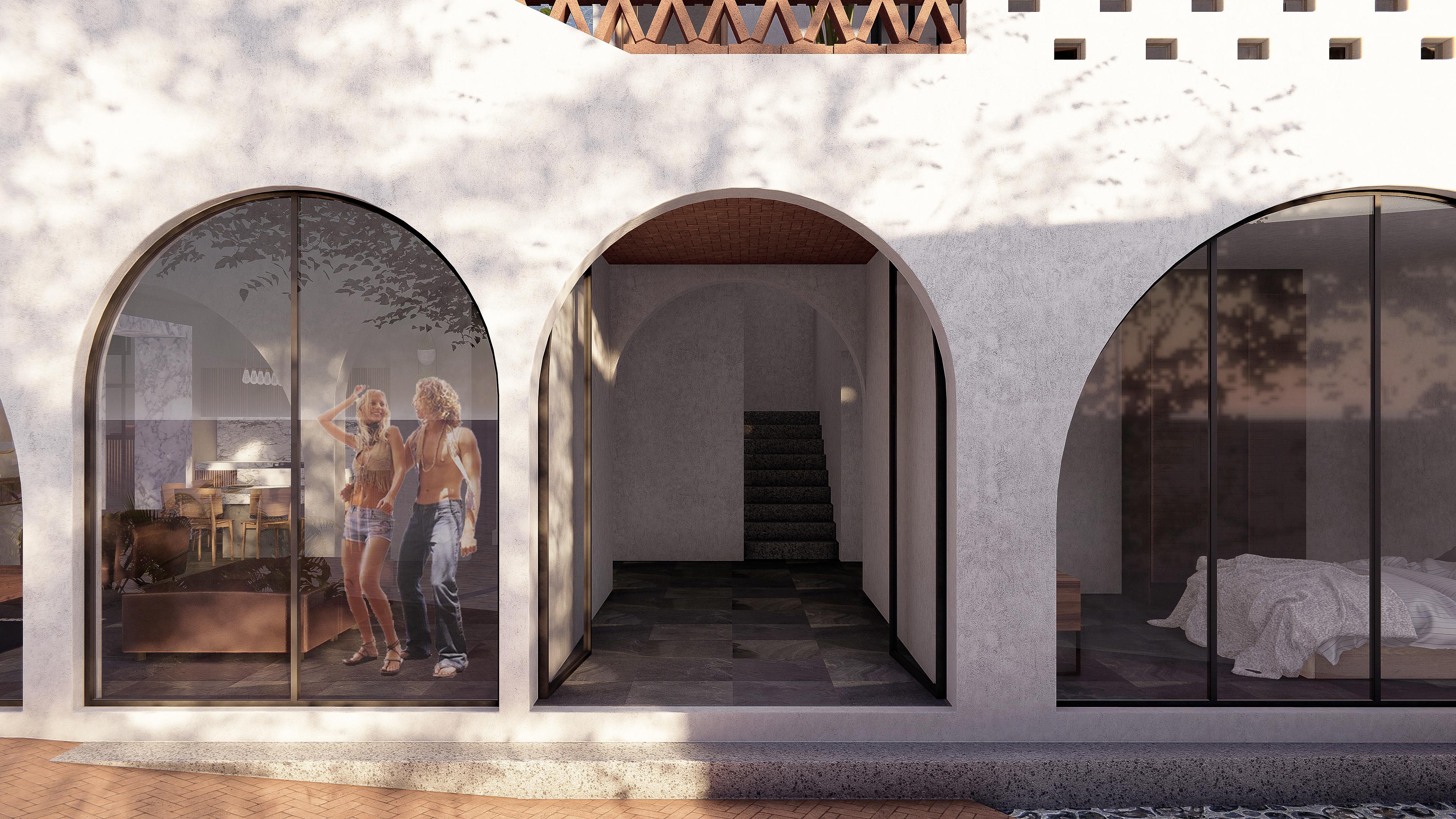 Casa Mango - entrada