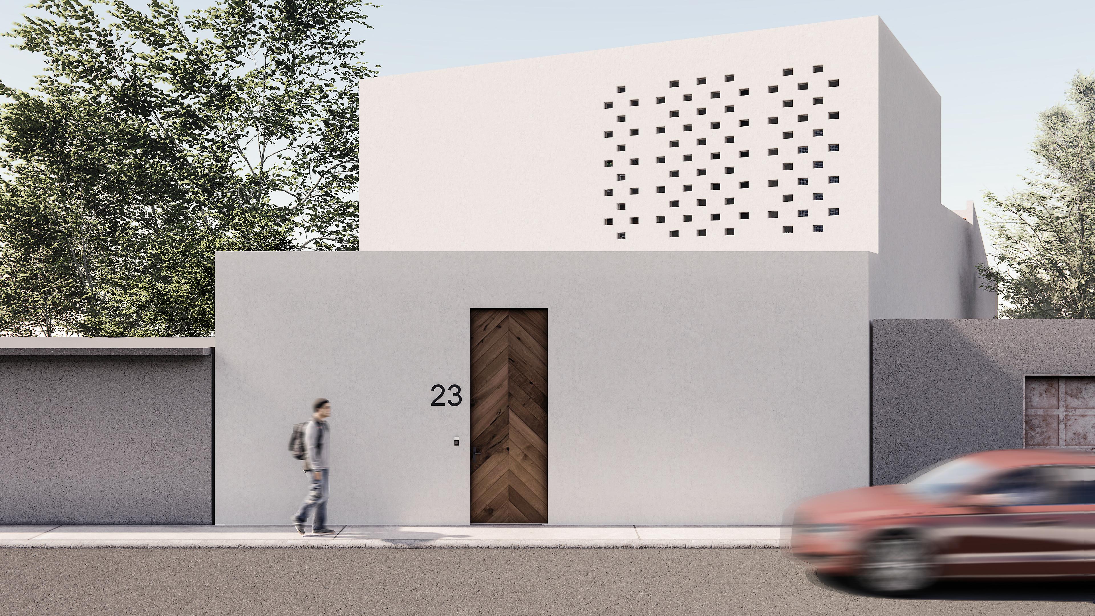 Casa MANGO acceso calle