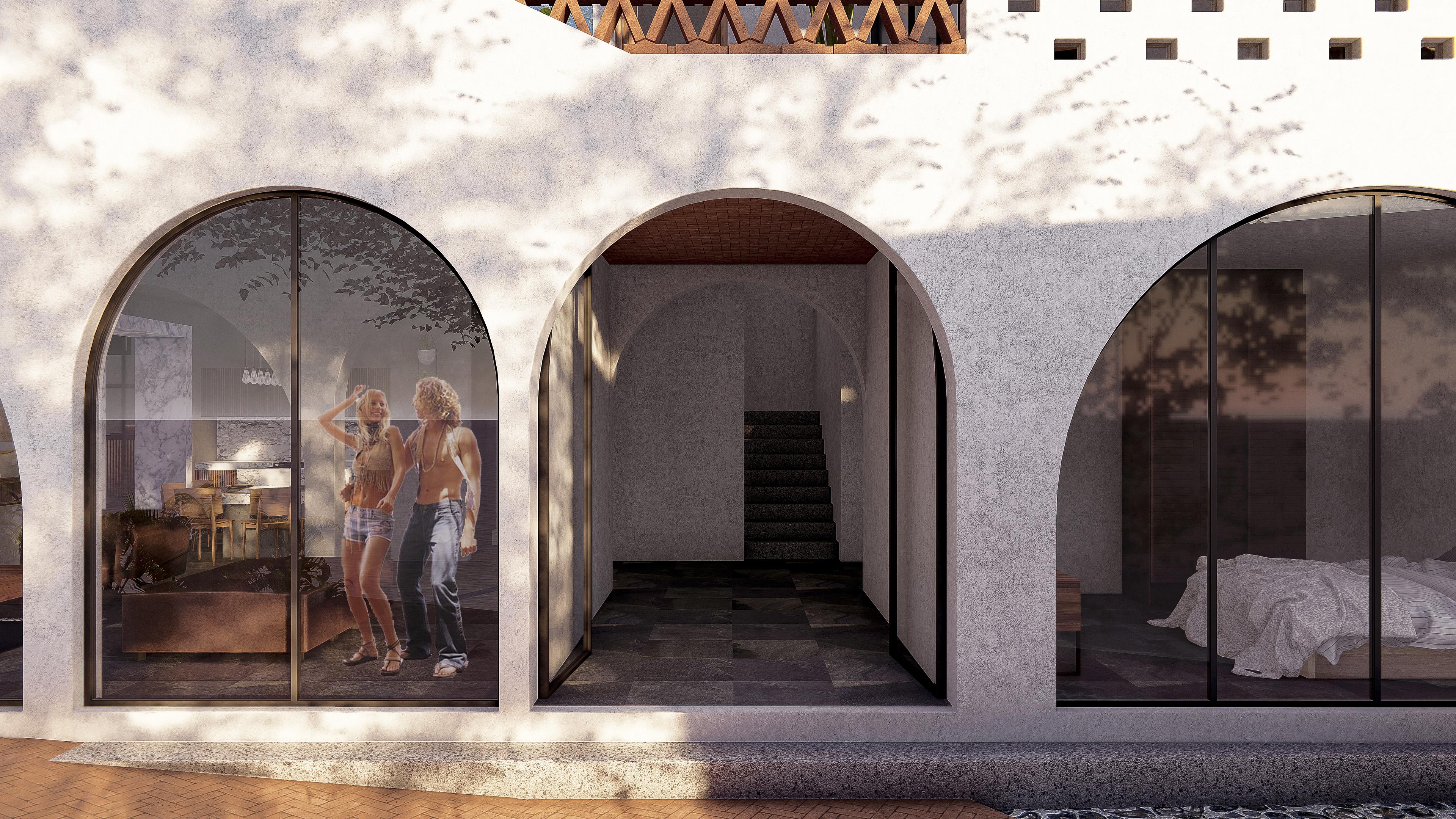 Casa MANGO entrada principal