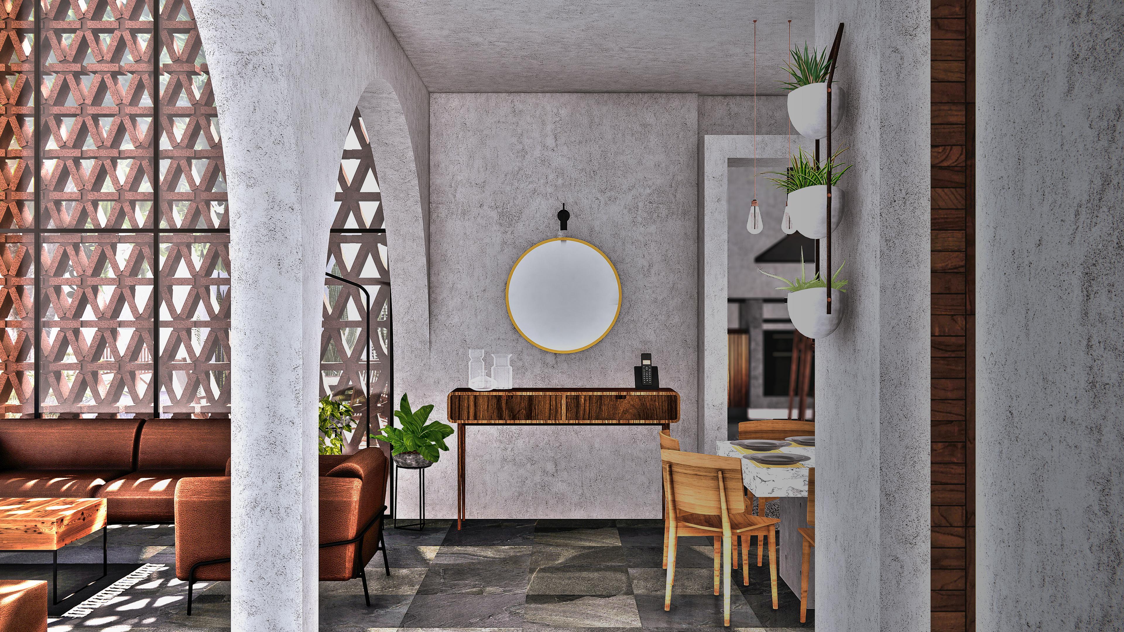 Casa Mango - vestíbulo
