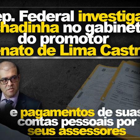 Rachadinha no MP: Promotor Renato Lima Castro obrigou assessores a repassar parte de seus salários