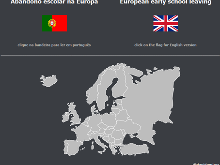 TalkingViz: Language matters! Bilingual analysis of early school leaving in EU.