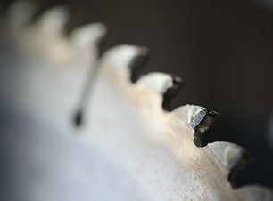 a cicular saw blade.