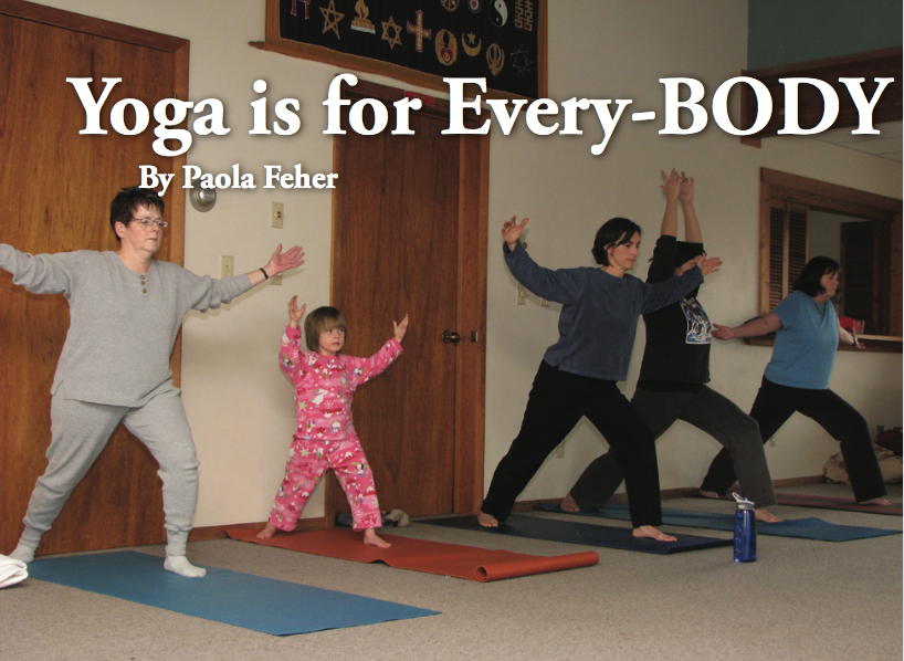 Yoga is for Every-BODY Paola Feher