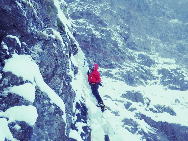 Paola Ice Climbing