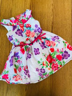 12-18 months belted dress