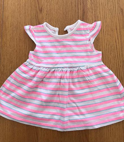 3-6m striped dress