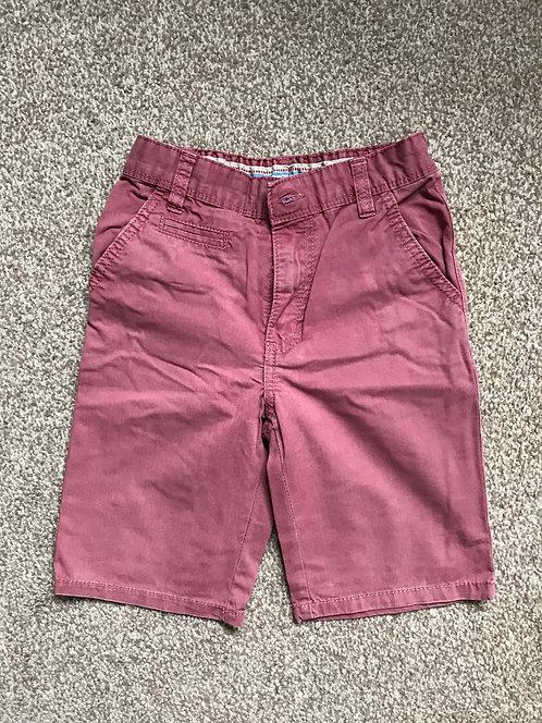 Age 5 rust coloured shorts