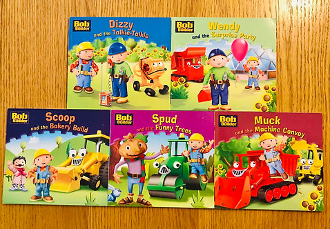 5 x Bob the Builder books