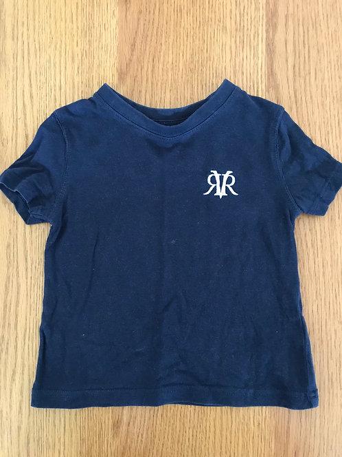 6-9m River Island indigo t shirt