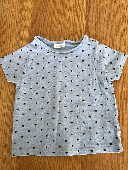 6-9m NEXT blue star t shirt
